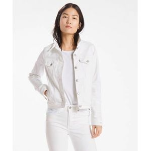 Levi's Women's Original Trucker White Jacket M